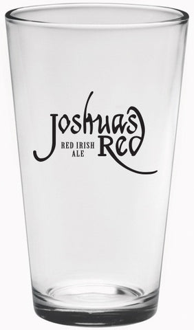 JOSHUA'S RED IRISH ALE 16 oz. PINT GLASS