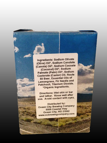 Route 50 American Pale Ale Organic Beer Soap