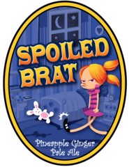 Spoiled Brat OC Brewing Co. Beer Magnet
