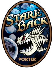 Stare Back OC Brewing Co. Beer Magnet