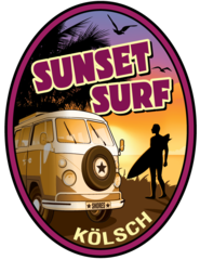 Sunset Surf OC Brewing Co. Beer Magnet