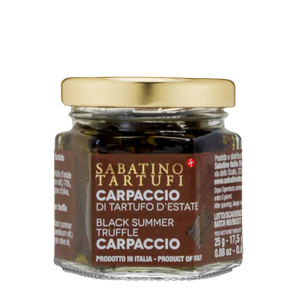 Black Summer Truffle Carpaccio- 25g