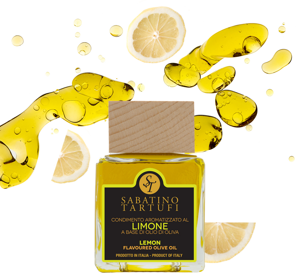 Premium Lemon Infused Olive Oil