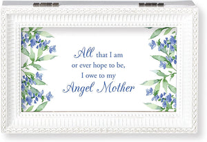 Angel Mother Music Box