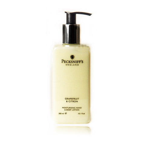 Pecksniff's Grapefruit & Citron Moisturising Hand & Body Lotion  300ml