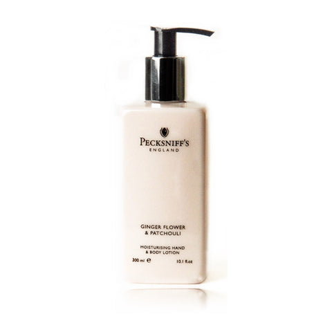 Pecksniff's Ginger Flower & Patchouli Moisturising Hand & Body Lotion  300ml