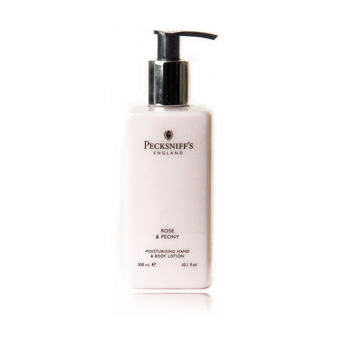 Pecksniff's Lavender & White Tea Moisturising Hand & Body Lotion  300ml