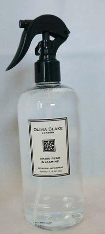 Olivia Blake 500ml  Anjou Pear & Jasmine Linen Spray