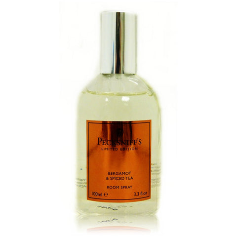 Pecksniff's 100ml Bergamot & Spiced Tea Room Spray