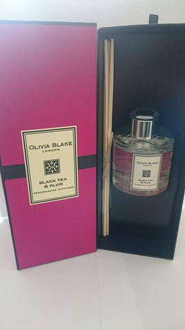 Olivia Blake Black Tea & Plum Fragranced Diffuser  100ml