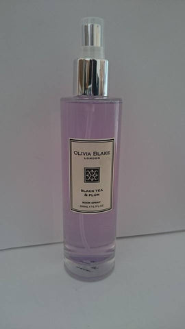 Olivia Blake Black Tea & Plum Fragranced Room Spray 200ml