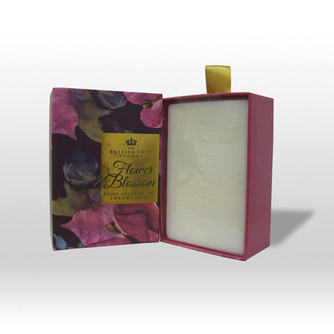 The British Soap Company presents Flower Blossom Fine Fragranced Luxury Soap
