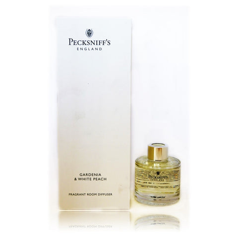 Pecksniffs Gardenia & White Peach Fragrant Room Diffuser  100ml