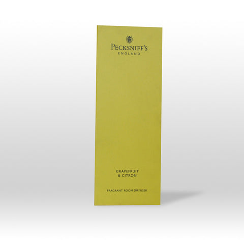 Pecksniffs Grapefruit & Citron Fragrant Room Diffuser  100ml