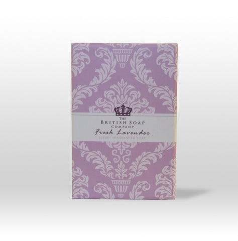 The British Soap Company presents Luxury Fragranced Fresh Lavender Soap