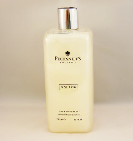 Pecksniffs Lily & White Musk Shower Gel  750ml