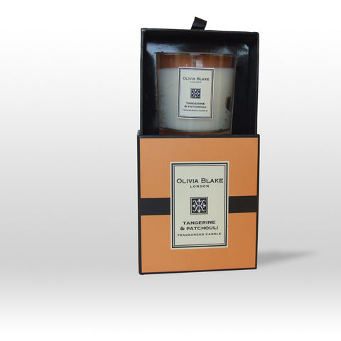 Olivia Blake Tangerine & Patchouli Fragranced Candle