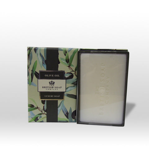 The British Soap Company presents Olive Oil Fine Fragranced Luxury Soap