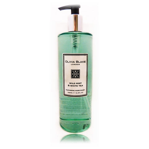 Olivia Blake Wild Mint & White Tea Cleanisng Hand Wash