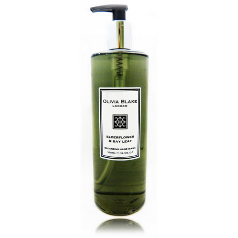Olivia Blake Elderflower & Bay Leaf  Cleanisng Hand Wash