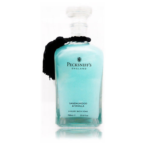 Pecksniff's Sandalwood & Vanilla Luxury Bath Soak  700ml