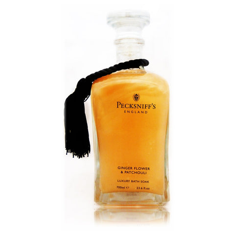 Pecksniffs Gingerflower & Patchouli Luxury Bath Soak  700ml