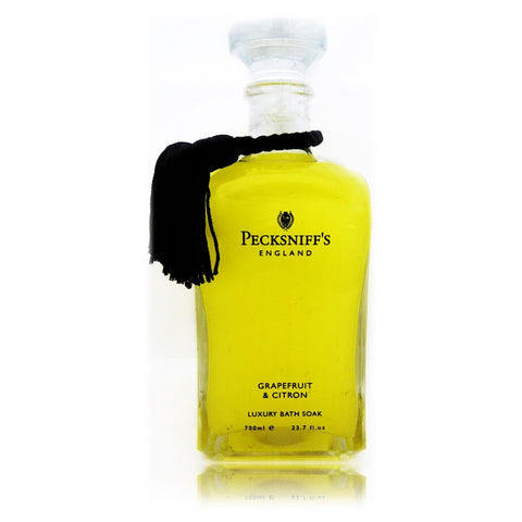 Pecksniff's Grapefruit & Citron Luxury Bath Soak  700ml