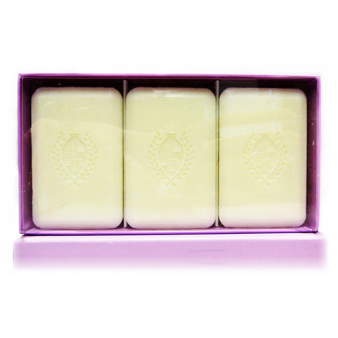Pecksniff's Lavender & White Tea Luxury Hand Soap Collection 3 x 150g