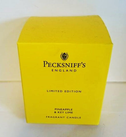 Pecksniffs Pineapple & Key Lime Fragranced Candle