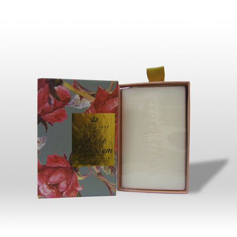 The British Soap Company presents Rose Blossom Fine Fragranced Luxury Soap