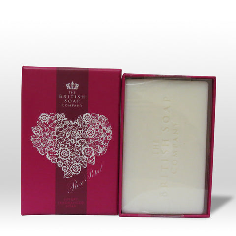 The British Soap Company presents Luxury Fragranced Rose Petal Soap