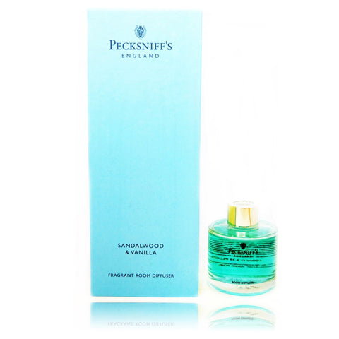 Pecksniffs Sandalwood & Vanilla Fragrant Room Diffuser  100ml