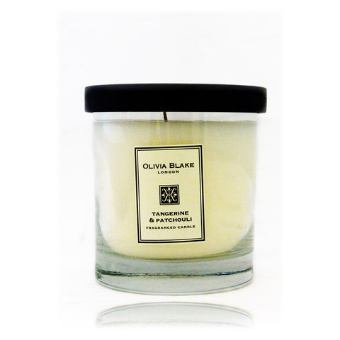 Olivia Blake Tangerine & Patchouli Fragranced Jar Candle