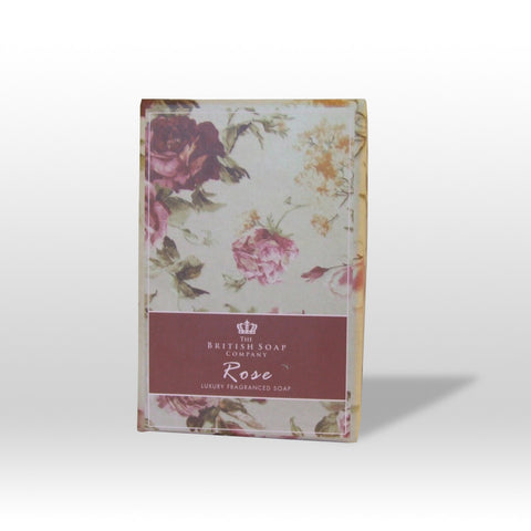 The British Soap Company presents Luxury Fragranced Rose Soap