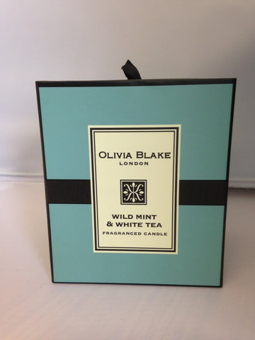 Olivia Blake Wild Mint & White Tea Fragranced Candle