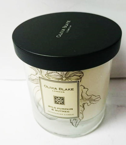 Olivia Blake Wild Pumpkin & Nutmeg  Fragranced Candle
