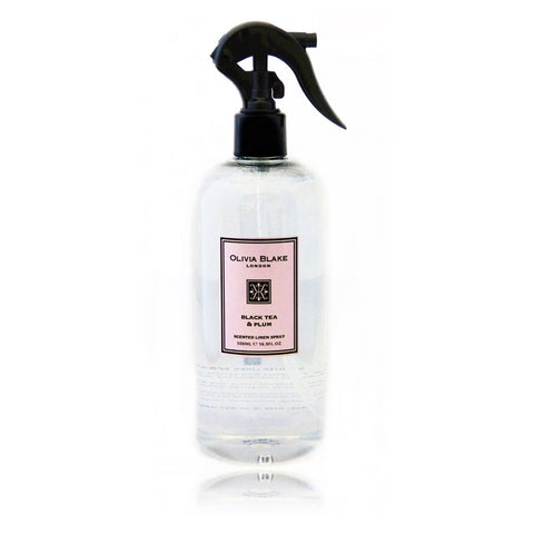 Olivia Blake 500ml  Black Tea & Plum Linen Spray