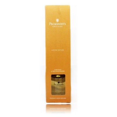 Pecksniffs Limited Edition Chestnut & Precious Woods  Room Diffuser