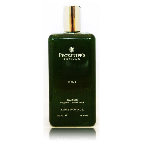Pecksniff's Classic Mens Bath & Shower Gel  500ml