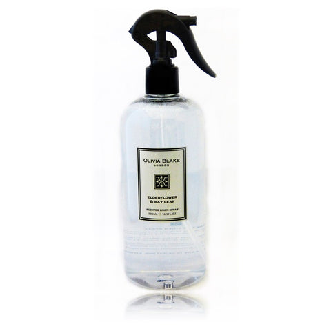 Olivia Blake 500ml  Elderflower & Bay Leaf Tea Linen Spray