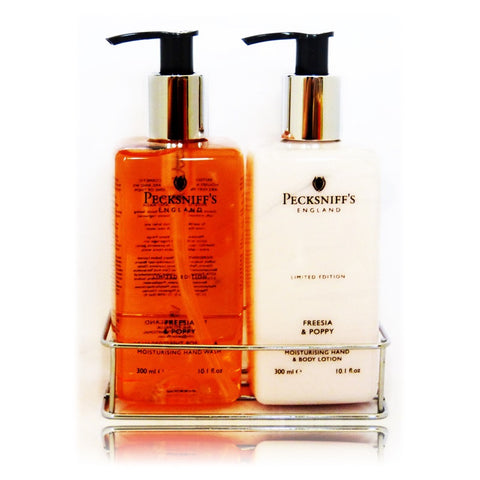 Pecksniff's Freesia & Poppy Caddy  300ml