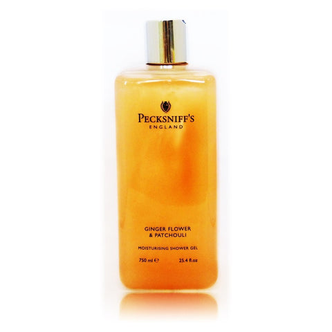 Pecksniffs Ginger Flower & Patchouli Moisturising Shower Gel  750ml