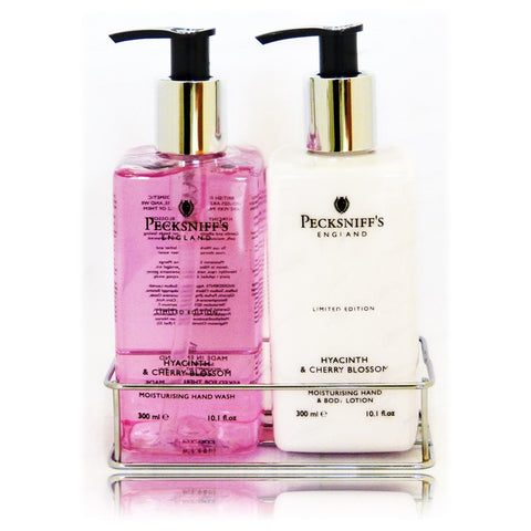 Pecksniff's Hyacinth & Cherry Blossom Caddy  300ml