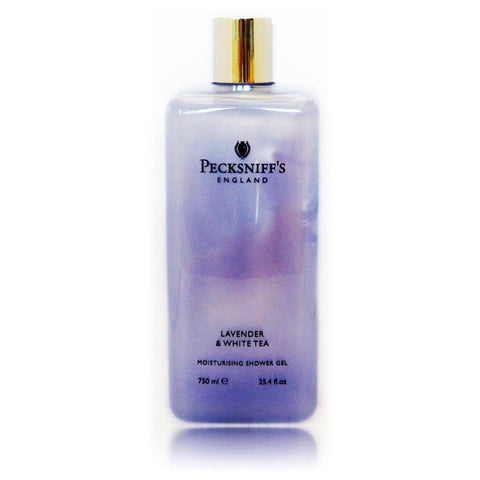 Pecksniffs Lavender & White Tea Moisturising Shower Gel  750ml