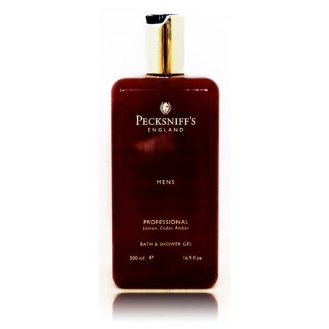 Pecksniff's Professional Mens Bath & Shower Gel  500ml