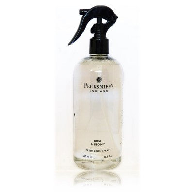Pecksniffs Rose & Peony Fresh Linen Spray  500ml