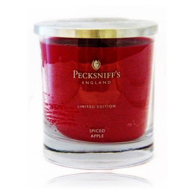Pecksniffs Limited Edition  Single  Wick Spiced Apple  Candle
