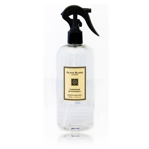 Olivia Blake 500ml  Tangerine & Patchouli  Linen Spray