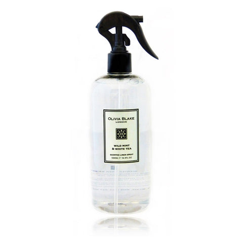 Olivia Blake 500ml  Wild Mint & White Tea Linen Spray