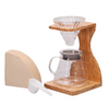 Hario V60 Olive Wood Brew Set